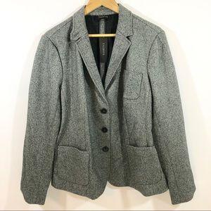 Talbots Wool Blend Grey Blazer NWT